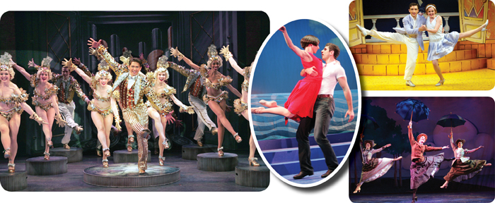 Goodspeed Musicals' 42nd Street, My One And Only, The Boy Friend, & Half a Sixpence