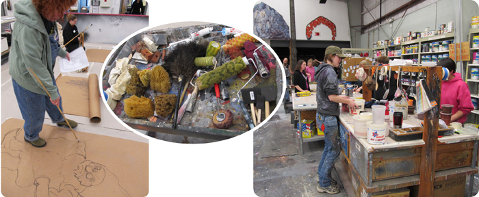 Goodspeed Musicals Scenic Painting Institute