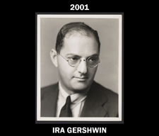 2001 Goodspeed Gala Honoree Ira Gershwin