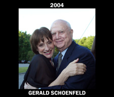 2004 Goodspeed Gala Honoree Gerald Schoendfeld with Patti LuPone