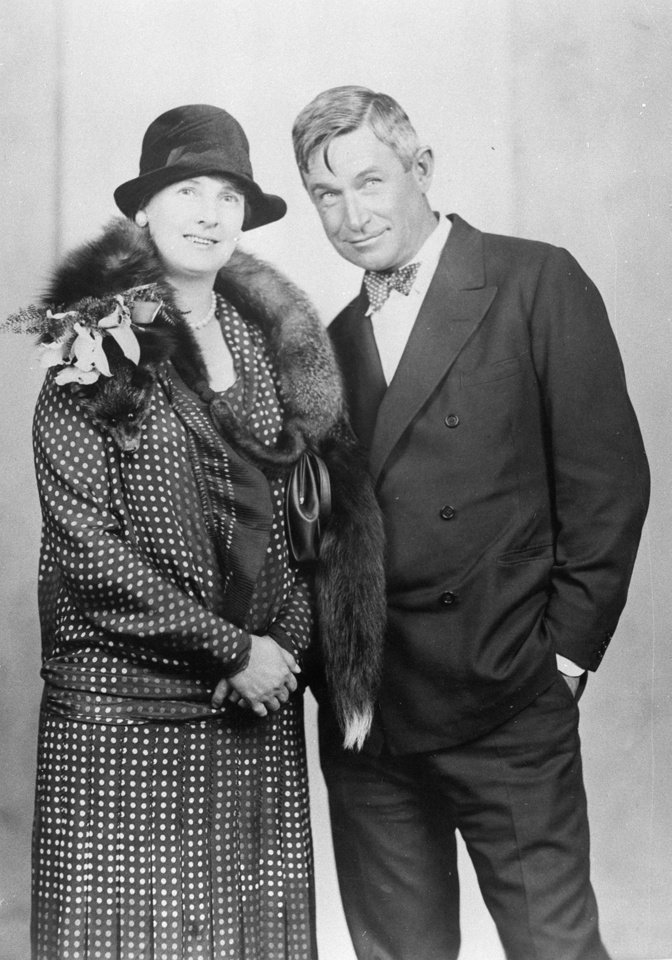 Betty and Will Rogers
