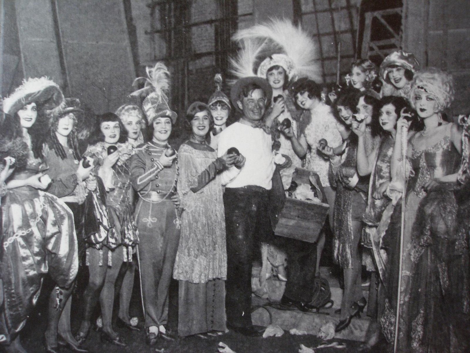 Will Rogers and the Follies Girls